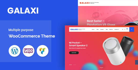 Galaxi – Technologiczny   Motyw WooCommerce