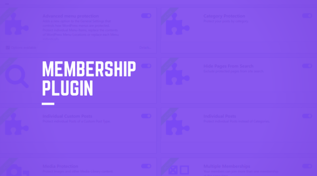 Membership plugin wordpress