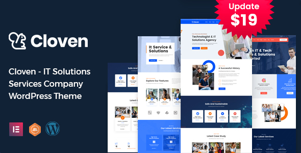 Cloven – IT Solutions Services Company WordPress Motyw