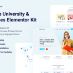 Edukator - Online University & Courses Elementor Template Kit