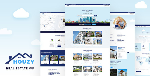 Houzy - Real Estate WordPress
