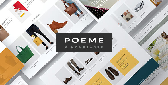Poeme – Dynamic Multipurpose WooCommerce WordPress Theme – Motyw wordpress