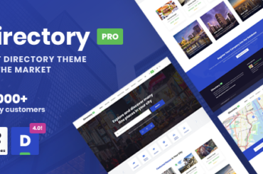 DirectoryPRO - WordPress Directory Theme