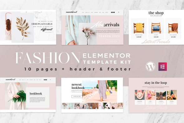 Fashion Feel - WooCommerce Elementor Template Kit