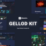 Gellod - Esport Gaming Elementor Template Kit