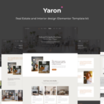 Yaron - Real Estate & Interior Design Elementor Template Kit