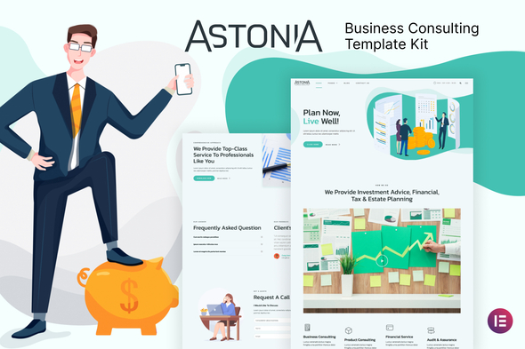 Astonia - Business Consulting Elementor Template Kit