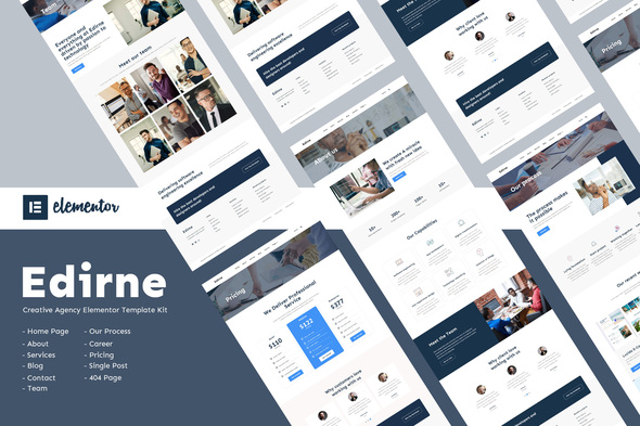 Edirne - Digital Services Elementor Template Kit