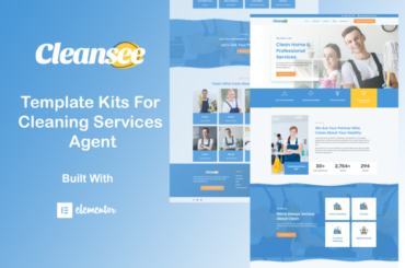 Cleansee - Cleaning Service Elementor Template Kit