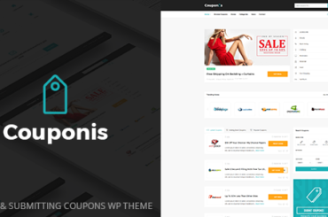 Couponis - Affiliate & Submitting Coupons WordPress Theme