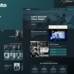Hasto - Cyber Tech Security Service Elementor Template Kit