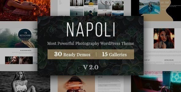 Napoli Photography WordPress
