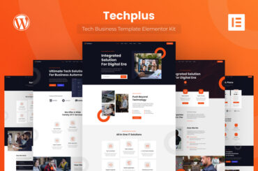 Techplus - Tech Business Elementor Template Kit