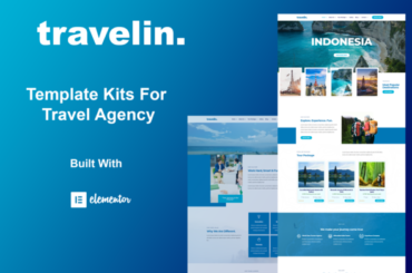Travelin - Travel Elementor Template Kit