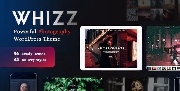 Whizz Photography WordPress