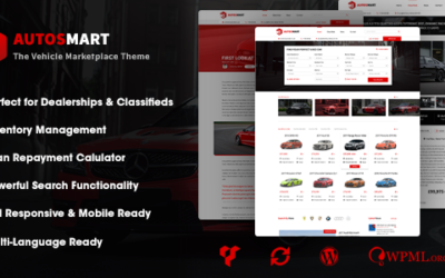 AutosMart – Automotive Car Dealer WordPress Motyw