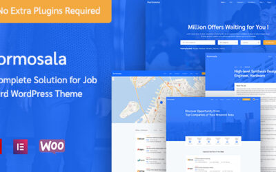 Kormosala – Job Board WordPress Motyw