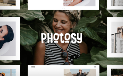 Photosy – Fotografia WordPress Motyw