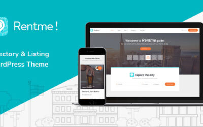 Rentme – Katalog & Listings Multipurpose WordPress Motyw