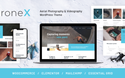 DroneX   Aerial Photography & Videography WordPress Motyw