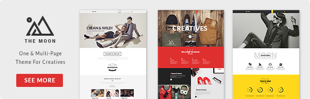Red Sky - One Page Creative Theme - 1