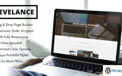 Revelance – Multi / One-Page Business Parallax Motyw